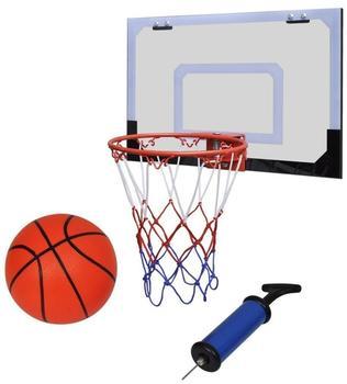 vidaXL Mini Basketballkorb Set mit Ball und Pumpe- Innenbereich