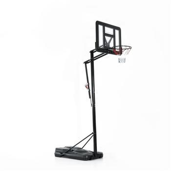 HomCom mobile basketball stand - adjustable basket height