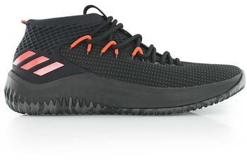 Adidas Dame 4 core black / dgh solid grey / hi-res red