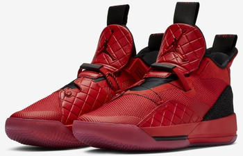 Nike Air Jordan XXXIII Basketball shoe university red/black/sail/university red