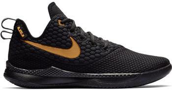 Nike LeBron Witness III (AO4433) black/black/metallic gold