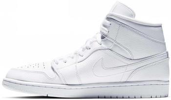Nike Air Jordan 1 Mid white/white/white