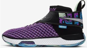 Nike Air Zoom FlyEase Basketball Shoe Purple