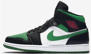 Nike Air Jordan 1 Mid black/white/gym red/pine green