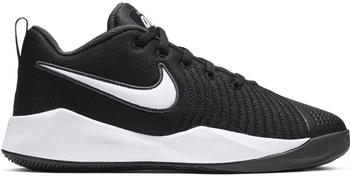 Nike Team Hustle Quick 2 schwarz/grau/weiß (AT5298-002-3.5Y)