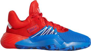 Adidas D.O.N. Issue 1 blau/rot (EF2400)
