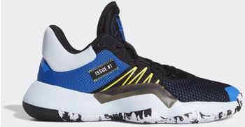 Adidas D.O.N. Issue #1 Core Black/Glow Blue/Shock Yellow