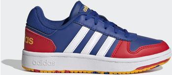 Adidas Hoops 2.0 Royal Blue/Cloud White/Vivid Red Kids (FY7016)
