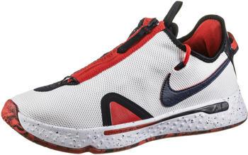 Nike PG 4 white/university red/obsidian