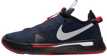 Nike PG 4 black/rush blue/university red/metallic silver