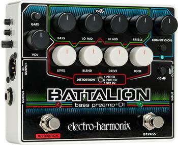 Electro Harmonix Battalion - Bass Preamp & DI