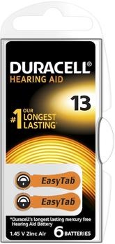 Duracell Easytab 13 orange (6 St.)