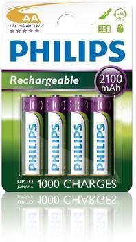 Philips AA / HR6 MultiLife 2100 mAh (4 St.)