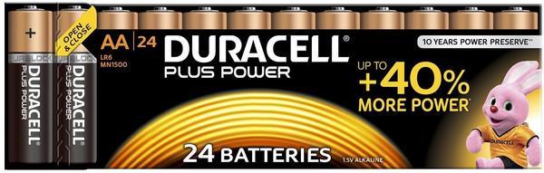 Duracell Plus AA LR6 - MN 1500 Alkaline Batterie 1,5V (24 St.)