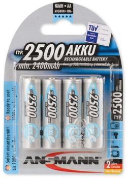 Ansmann MaxE AA Mignon NiMH Akku-Battery 1,2V 2500 mAh (4 St.)