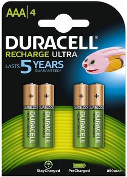 Duracell AAA StayCharged 800mAh / HR03-A (4 St.)