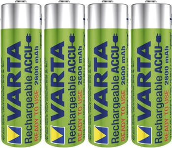 Varta Professional Accu AA Mignon NiMH 1,2V 2600 mAh (4 St.)