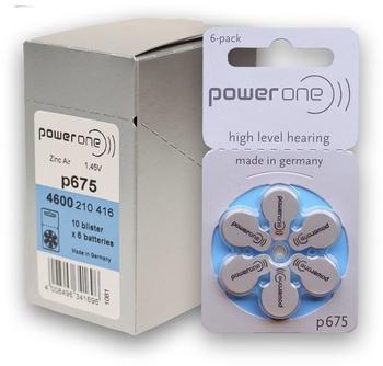 powerone-p675-zink-luft-1-45v-650-mah-60-st