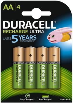 Duracell Rechargeable AA Mignon 1,2V 2400 mAh (4 St.)