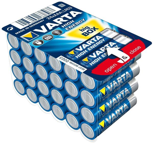 Varta AAA High Energy Batterie 24 St.
