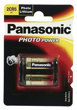 Panasonic Photo Power 2CR5 Lithium 6,0 V 1400 mAh (2 St.)
