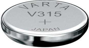 Varta Knopfzelle Batterie V315 Silber 1,55 V