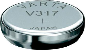 Varta V317 Knopfzelle SR62 Batterie 1,55V 8 Ah