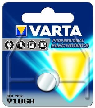 Varta V10GA Knopfzelle LR 54 1,5V 50 mAh