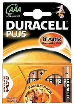 Duracell Plus Power LR03 AAA MN 1,5V 2400 mAh (8 St.)