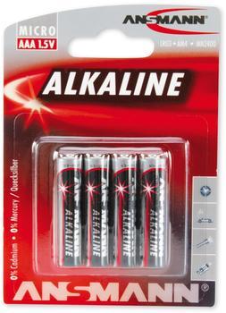 Ansmann AAA Micro Alkaline 4 St. (5015553)