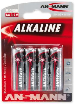 Ansmann 1x4 Alkaline Mignon red-line (5015563)