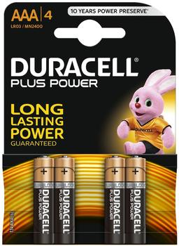 Duracell Plus Power AAA Micro (4 St.)