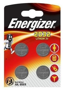 Energizer CR2032 Batterie (4 St.)
