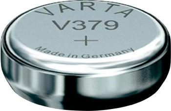 Varta Electroinics V379 Knopfzelle SR63 Batterie 1,55V 13 mAh