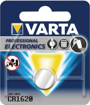Varta Knopfzelle CR1620 Lithium Batterie 3V 70 mAh