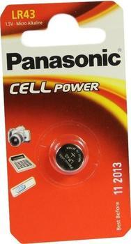 Panasonic Knopfzelle LR43 1,5V 100 mAh