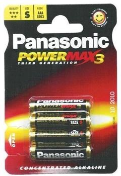 Panasonic AAA / LR03X Xtreme Power (4 St.)