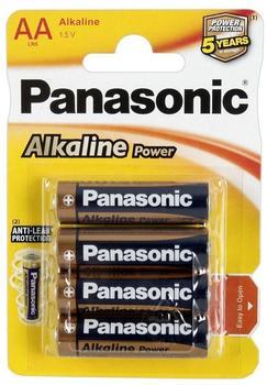 Panasonic Alkaline Power AA LR6 (4 St.)