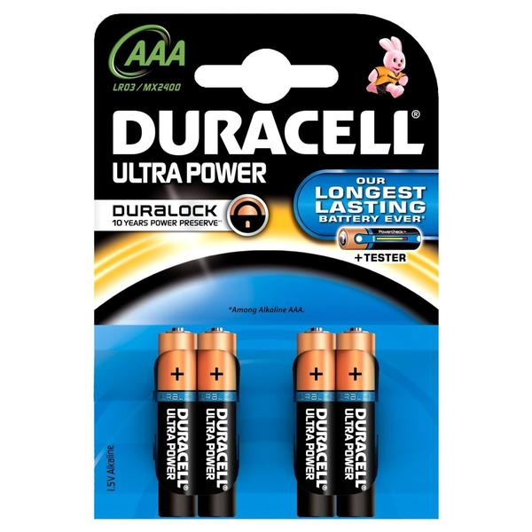 Duracell Ultra Power Micro AAA MX2400 4 St. (DUR002692)