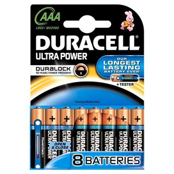 Duracell Ultra Power AAA Micro D-Click Box MX2400 8 St. (DUR002746)