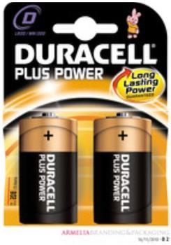 Duracell Plus Power Mono D LR20 1,5V (2 St.)