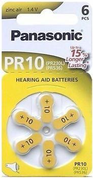Panasonic Zinc Air PR10 (6 St.)