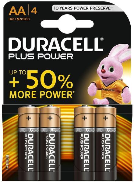 Duracell Mignon AA Batterie 1,5V 1500 mAh (4 St.)