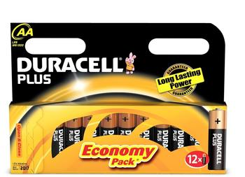 Duracell Plus Power AA Mignon (12 St.)