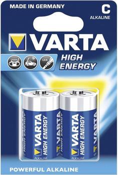 Varta C High Energy Batterie 2 St. (04914)