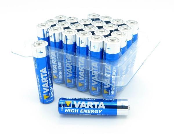 Varta High Energy Micro AAA 24 St. (4903)