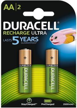 Duracell Rechargeable Ultra Mignon AA 2500mAh (2 St.)