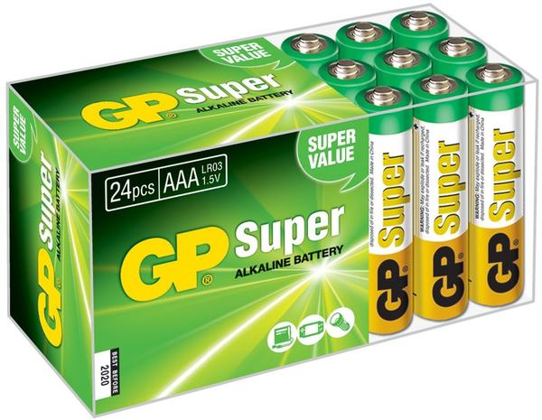 GP Micro AAA LR03 1,5V (24 St.)