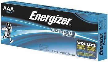 Energizer Micro AAA Lithium Ultimate Industrial LR03 1,5V (10 St.)