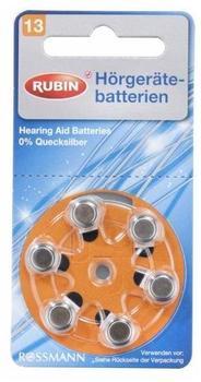 Rossmann Rubin 13 Hörgerätebatterien